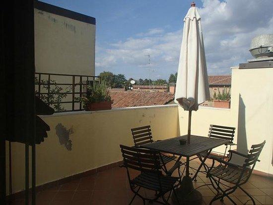 Hotel De Prati: Suite terrace