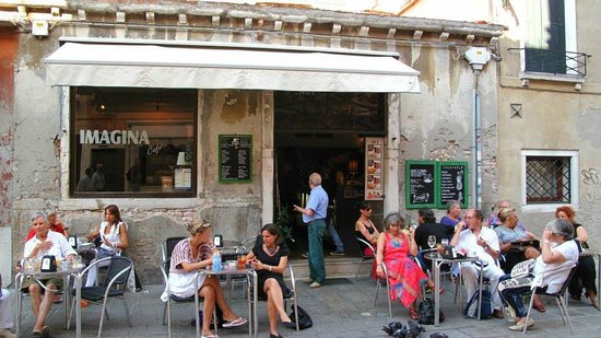 Imagina cafe bring me a wonderful afternoon in Venice!