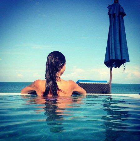 Samui Resotel Beach Resort: ocean pool villa