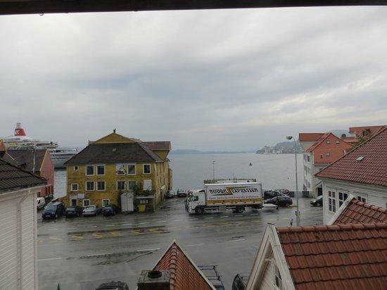 Skuteviken Guesthouse: view from loft room (#5)