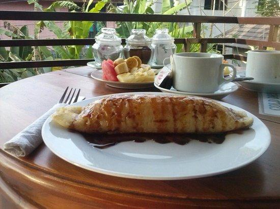 Frangipani Bungalows: Banana Pancake