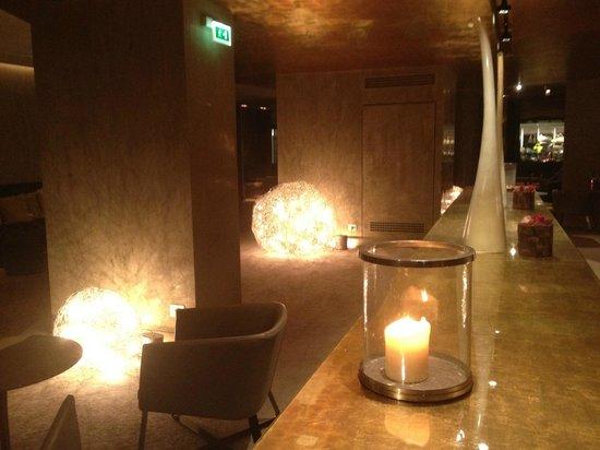 Starhotels Rosa Grand: Espaço interno do Hotel