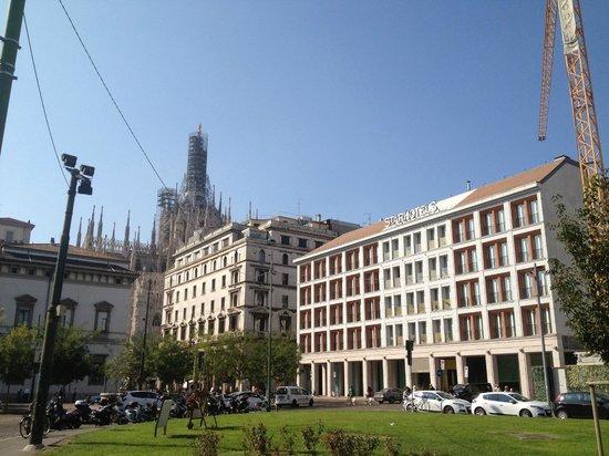 Starhotels Rosa Grand: Vista Externa do Hotel