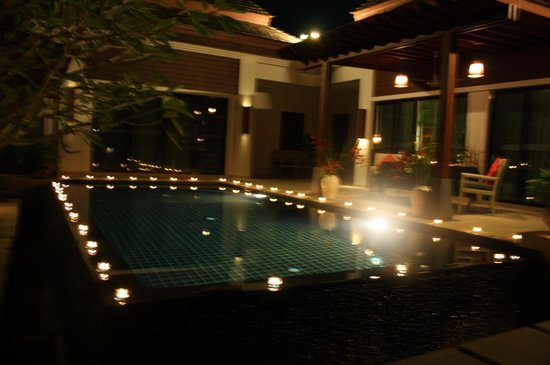 The Bell Pool Villa Resort Phuket: Romantic Dinner