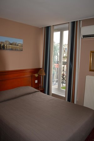 Hotel Paris Rivoli: Balcony Room
