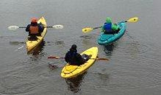 Fairbanks Paddle & Pedal: even in the rain ?