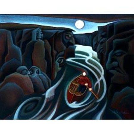 Fairbanks Paddle & Pedal: fantastic Yukon artist !