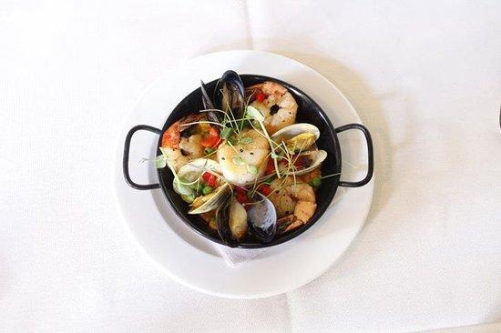 Aioli: seafood paella