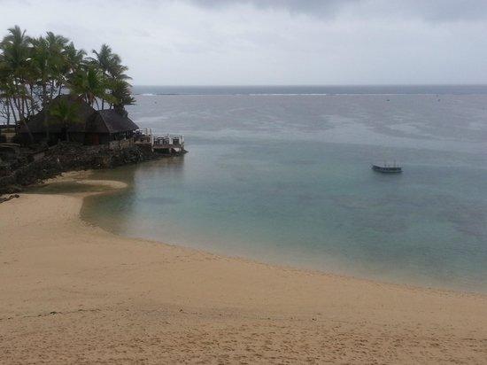 The Warwick Fiji: View of the beach
