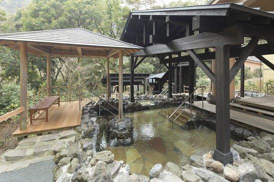 Hakone Yuryo: 岩風呂(大浴場)