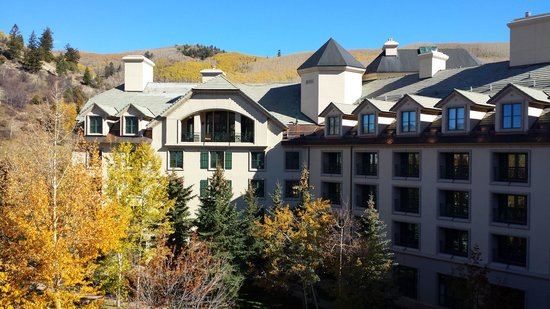 The Residences at Park Hyatt Beaver Creek: Fall foliage