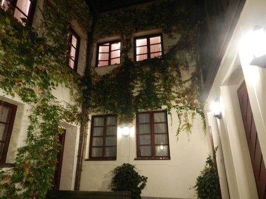 Hotel Waldstein: внутренний дворик