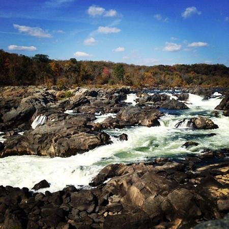 Billy Goat Trail: Gorgeous fall colors at Great Falls Overlook