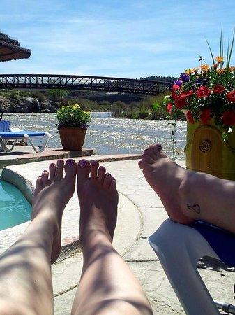 The Springs Resort & Spa: Relaxing by springs awww