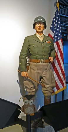 Patton Museum of Cavalry and Armor: First thing to greet you as you enter the gallery