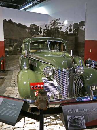 Patton Museum of Cavalry and Armor: The vehicle Patton was in when he got into that acident.
