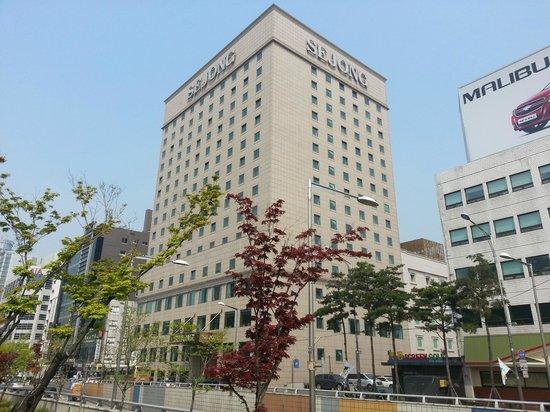 Sejong Hotel : 世宗ホテル外観