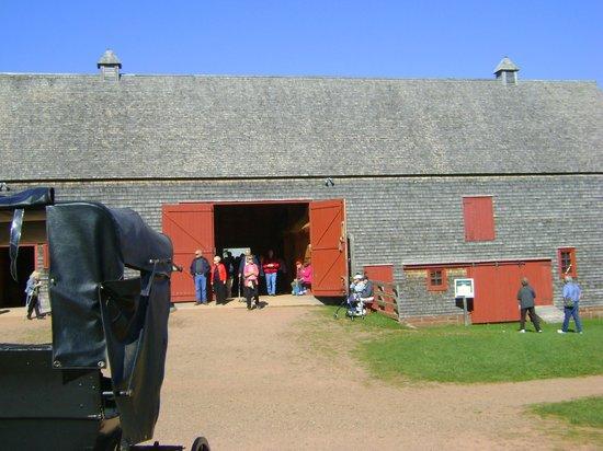 Green Gables: la grange adjacente à la maison