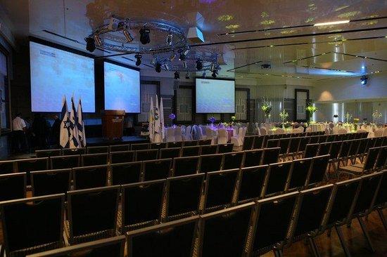 Crowne Plaza Hotel Jerusalem: Ballroom, conference room