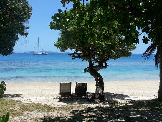 Likuliku Lagoon Resort: View from deluxe beachfront bure 39