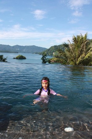 DABIRAHE Dive, Spa and Leisure Resort (Lembeh): The pool view