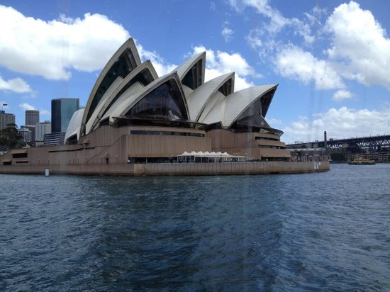 Magistic Cruises: Sydney Opera House from harbor cruise
