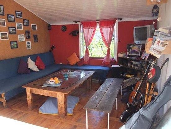 Freedom Hostel Budva: Common room