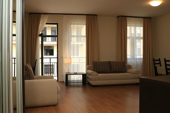 VALSET apartments by AZIMUT Rosa Khutor: Апартаменты 1-комнатные с отдельной кухней