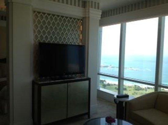 The St. Regis Abu Dhabi: view