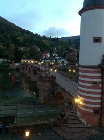Hotel Holländer Hof: early morning view from room