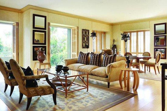 Saxon Hotel, Villas and Spa: One Bedroom Suite Living Room