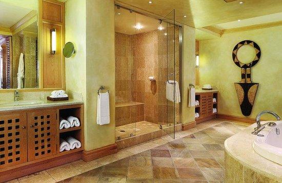 Saxon Hotel, Villas and Spa: Saxon Mandela Presidential Suite Bathroom