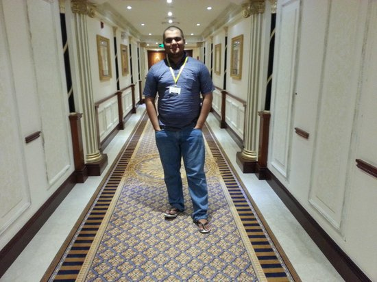 InterContinental Dar Al Tawhid: Passage to my room..
