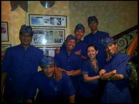 Un's Restaurant: aktuelle Foto der Mannschaft