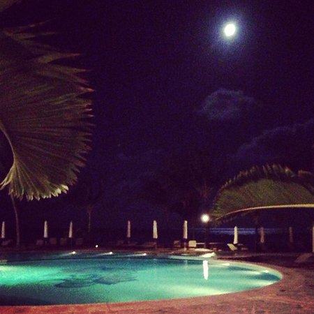 The Residence Mauritius: Vista restaurante