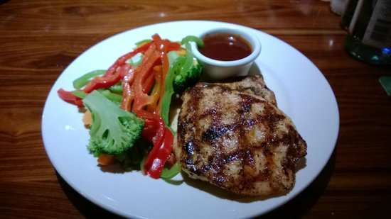 Outback Steakhouse: Chicken on the barbie