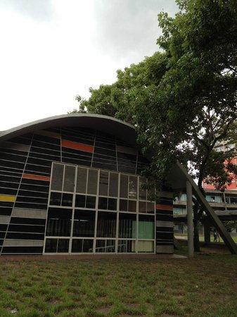 Universitätsstadt von Caracas (Ciudad Universitaria de Caracas): Biblioteca de la Facultad de Ingenieria