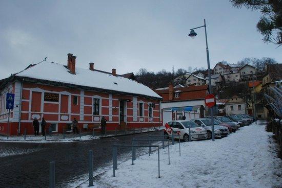 Old City Pension : Отель, вид с улицы