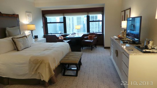 The Towers at Lotte New York Palace : Our very spacious suite in the Towers.