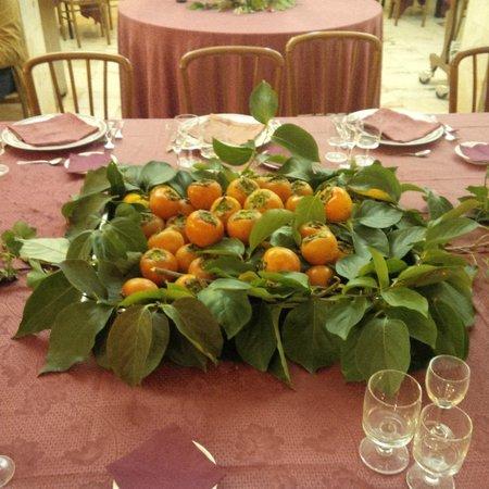 Hotel Park Ge.Al.: decorazione tavolo