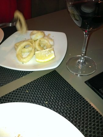 Restaurante Hidalgo: Calamari