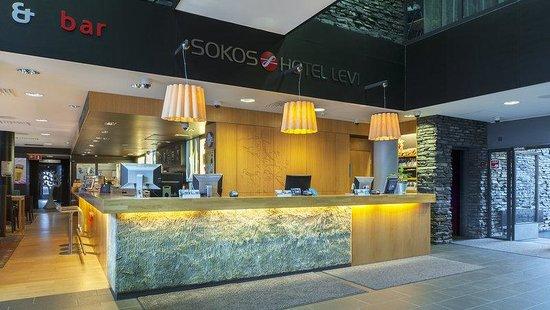 Break Sokos Hotel Levi: Sokoshotel Levi Lobby