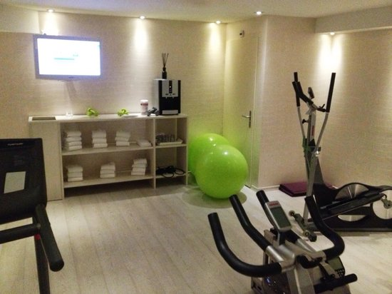 La Cour des Augustins - Boutique Gallery Design Hotel: Gym