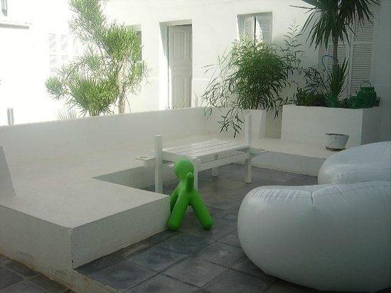 Dar Bibine : relaxing area