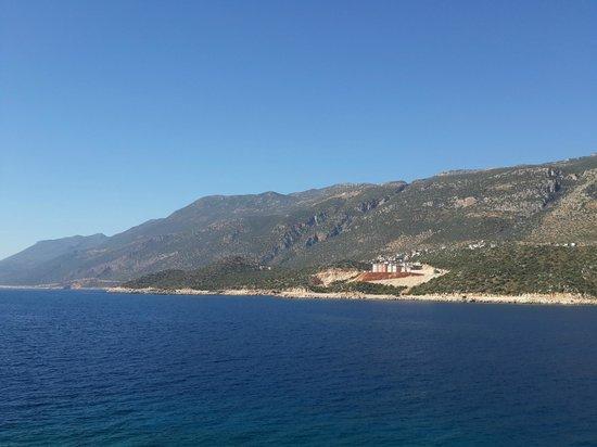 Korsan Ada Hotel : Gündüz Manzarası