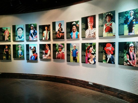 Yunnan Nationalities Museum: Photos of the 26 ethnics groups of Yunnan