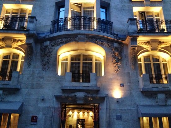 Hotel Sezz Paris : Awesome entrance