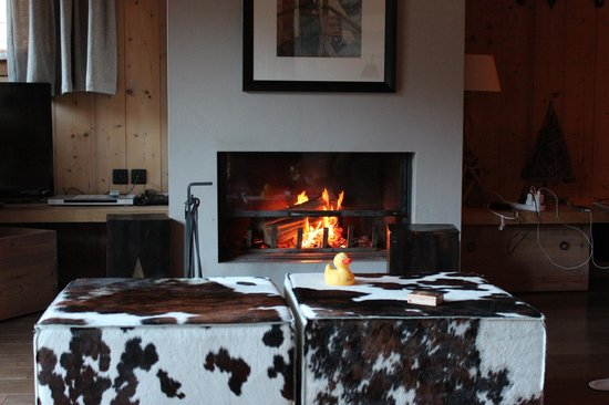 Granges d'en haut - Ski chalets: Keeping warm and Toasty
