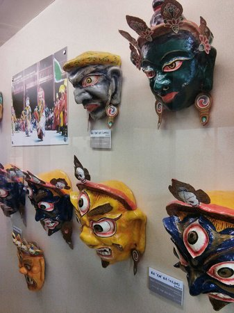 Yunnan Nationalities Museum: Traditional masks