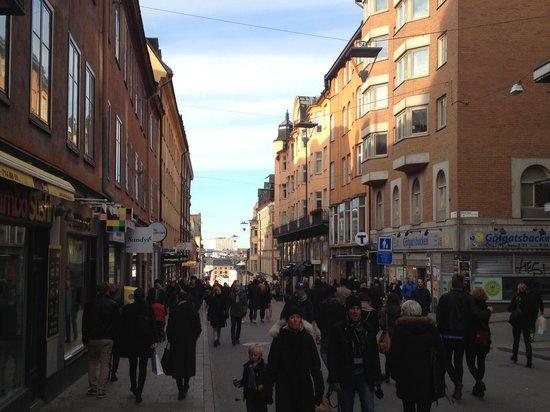 Södermalm: Second hand shop